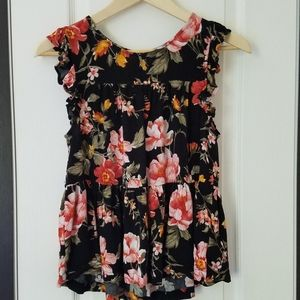 American Eagle Outfitters foral top